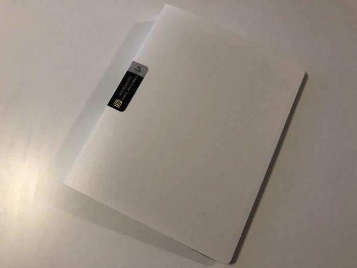 クリアファイル家計簿01