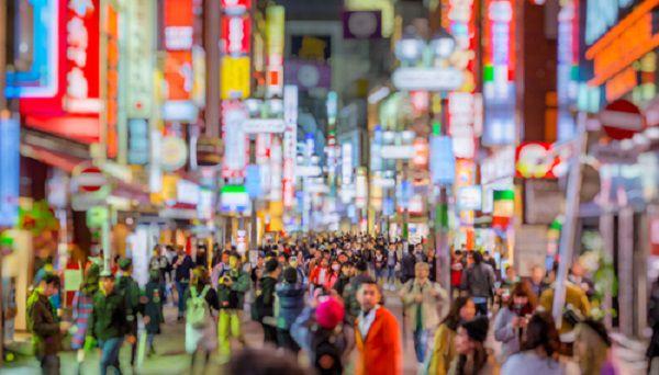 東京の夜街